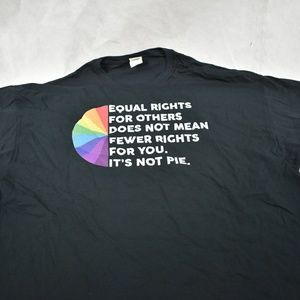 Equal Rights Graphic t shirt